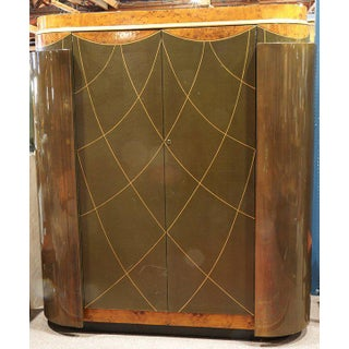 Leavitt Weaver Art Deco Wardrobes, 2 Available Preview