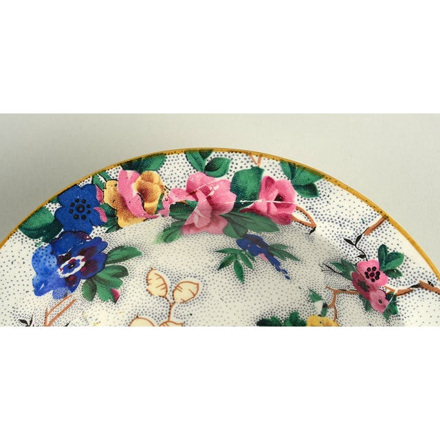 Crown Ducal Ascot Rim Small Bowl - Set of 4 For Sale In Greensboro - Image 6 of 9
