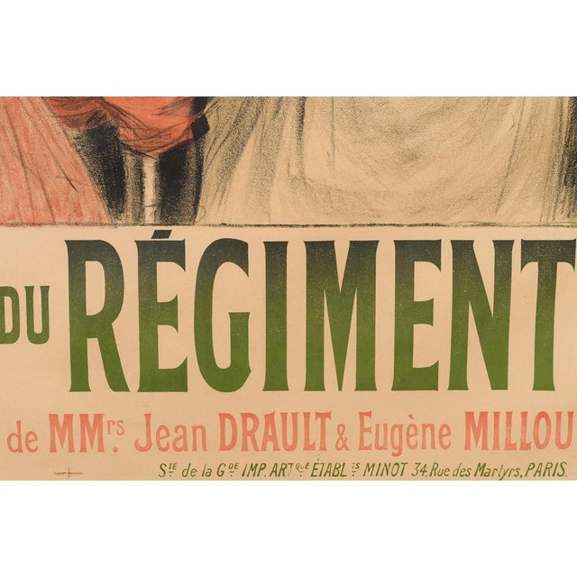 Eldorado Original 1905 Vintage French Poster- by Georges Redon -Framed - Image 7 of 10