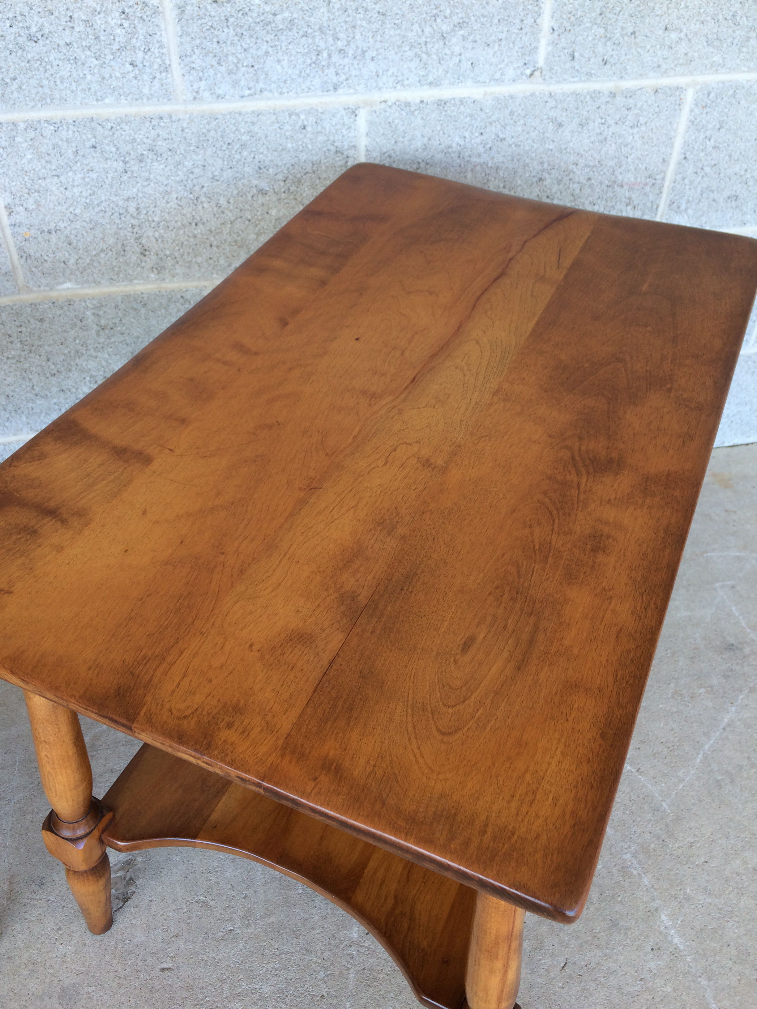 Cushman Colonial Maple End Tables   A Pair For Sale   Image 5 Of 10