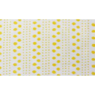 Virginia Kraft Polkat Fabric, 3 Yards in Marigold For Sale
