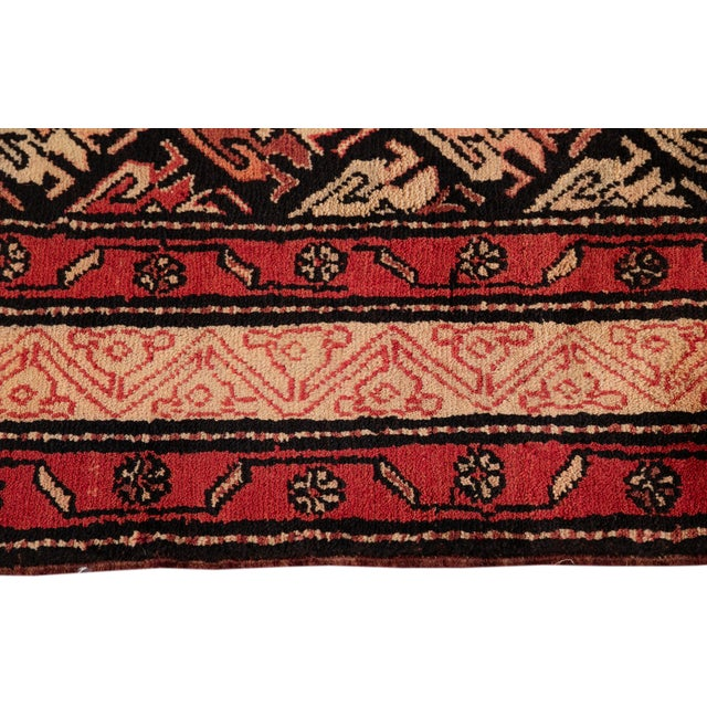 """Vintage North West Persian Rug, 4'5"""" X 10'0"""" For Sale In New York - Image 6 of 9"""