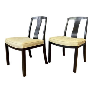 Pair of Michael Taylor for Baker Furniture T-Back Dining Chairs, 1950s For Sale