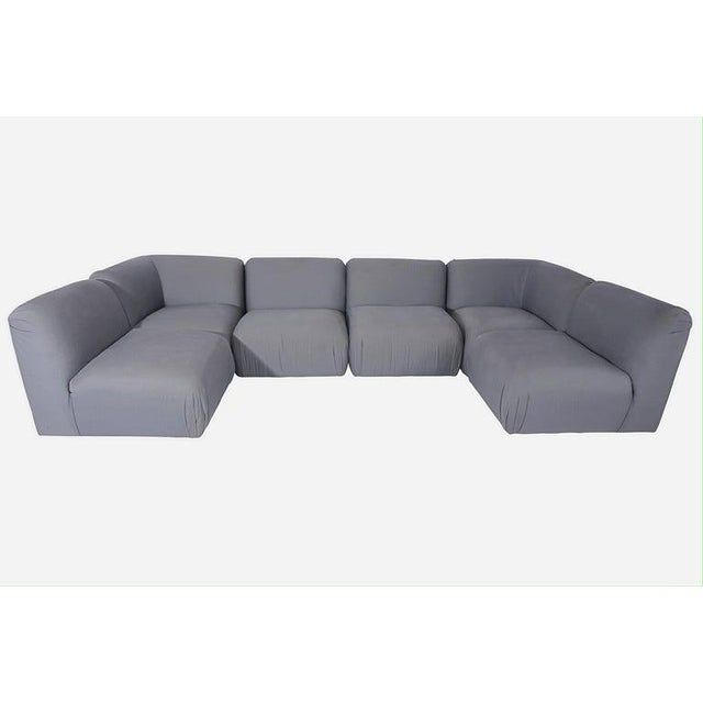 Mid-Century Modern Milo Baughman Sectional Sofa For Sale - Image 3 of 6