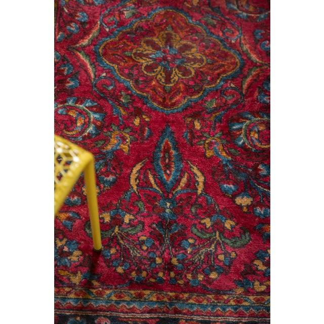 """Textile Vintage Lilihan Rug - 3'4"""" x 5' For Sale - Image 7 of 10"""