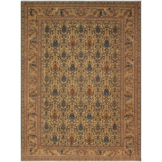 Kafkaz Lavastone Micha Lt. Gold/Gold Hand-Knotted Rug - 8'10 X 11'11