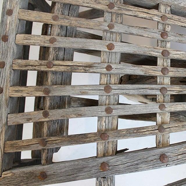 Antique Mongolian Wheel Cart - Image 3 of 3