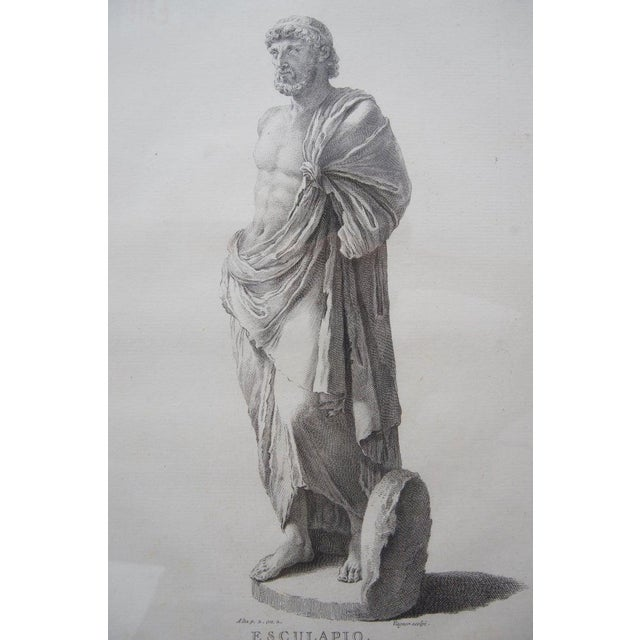 19th Century Neoclassic Engravings - Set of 4 For Sale - Image 12 of 13