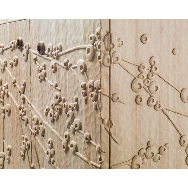 Millicent Mini Pueblo Plum Blossom Credenza by Emily Henry For Sale - Image 4 of 7