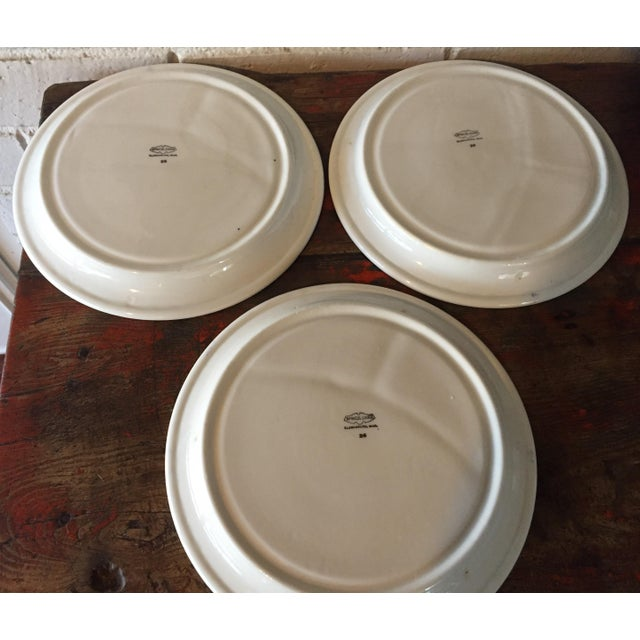 Blue Willow Restaurant Grill Plates - Set of 3 - Image 4 of 11