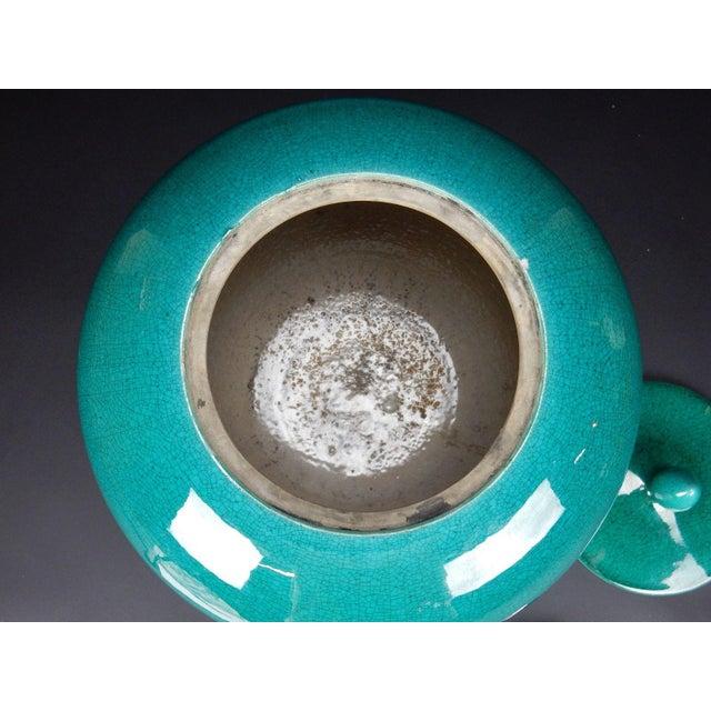 Chinese Crackle Glazed Ginger Jar - Image 6 of 11