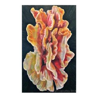 """The Universe"" Original Mushroom Painting"