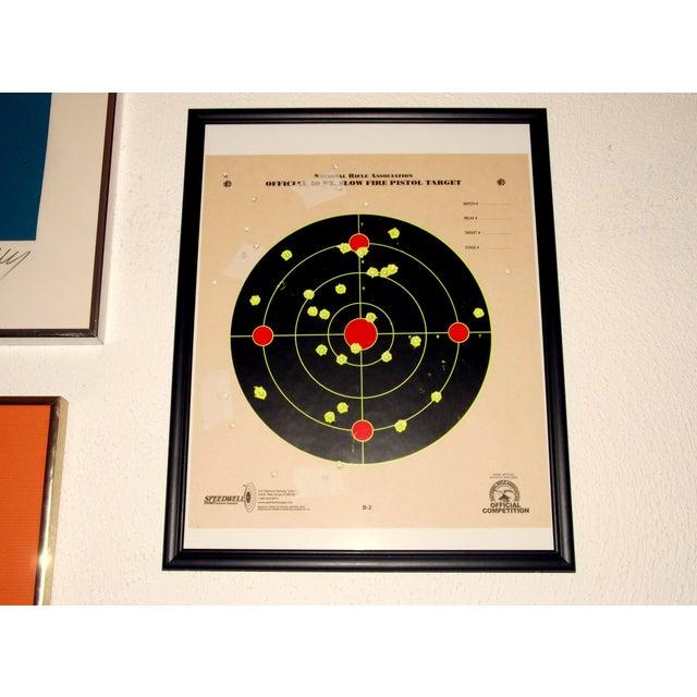 Framed NRA Shooting Target - Image 3 of 11