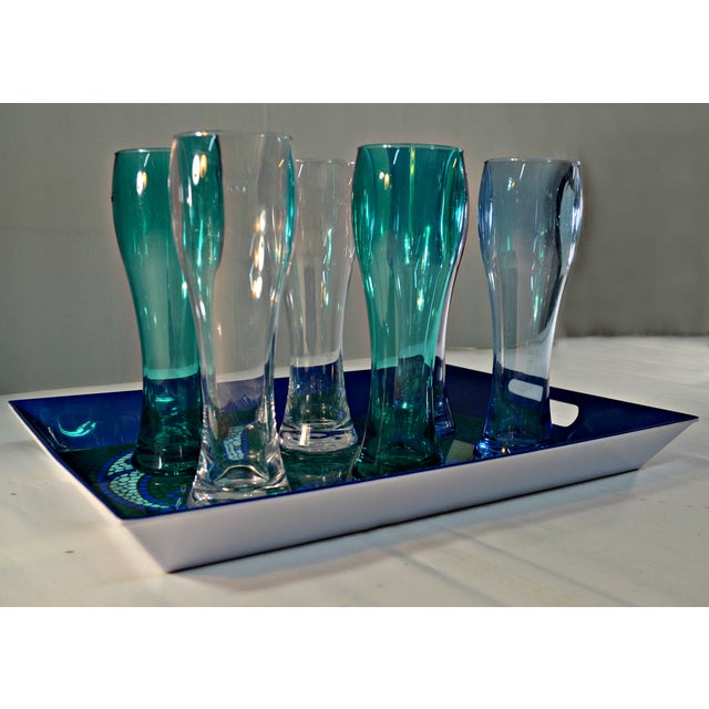 Contemporary Seven-Piece Outdoor Beer Serving Set For Sale - Image 3 of 8