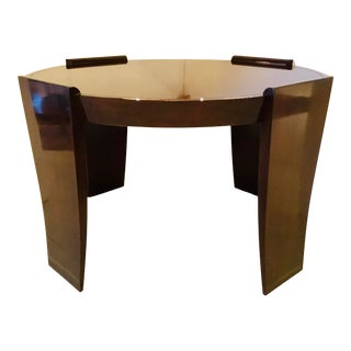 Thomas Pheasant for Baker Modern Mahogany Finished Wood Center Table For Sale