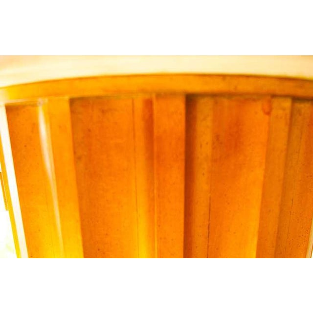 Marble Column Side Table For Sale - Image 9 of 11