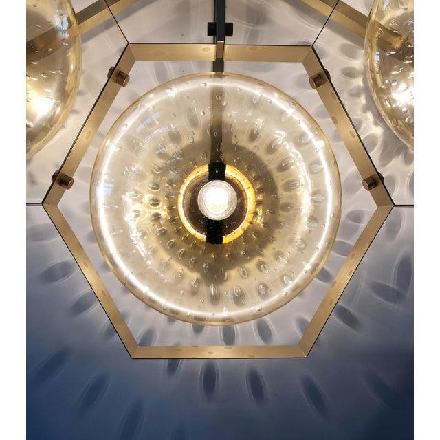 Hive Flush Mount by Fabio Ltd For Sale - Image 10 of 13
