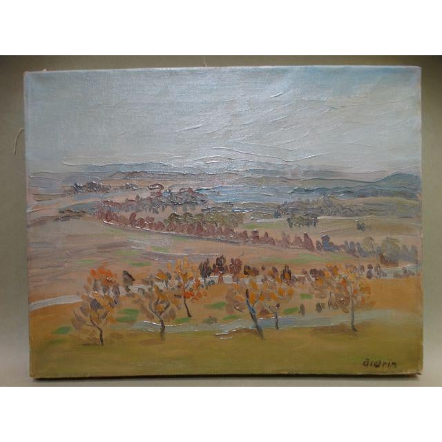 California Winter Fields Painting by Anders Aldrin - Image 2 of 8