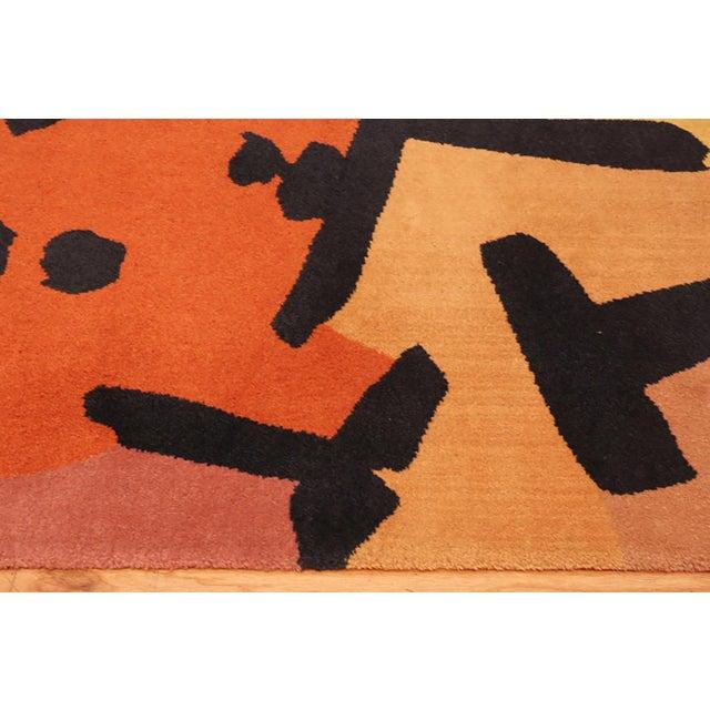 Paul Klee Artist Scandinavian Rug - 4′8″ × 6′6″ For Sale - Image 10 of 13