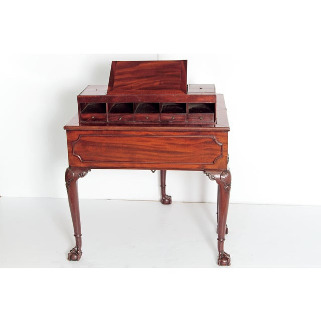 Brown A George II Mahogany Harlequin Table For Sale - Image 8 of 13