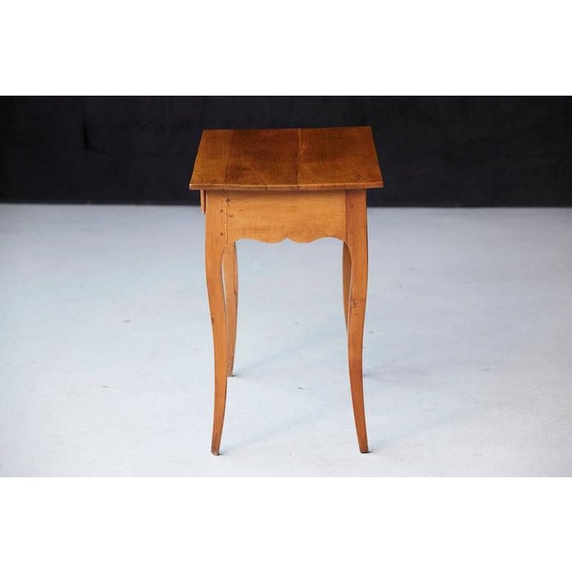 Late 19th Century 19th Century French Provincial Fruitwood Occasional Table For Sale - Image 5 of 10