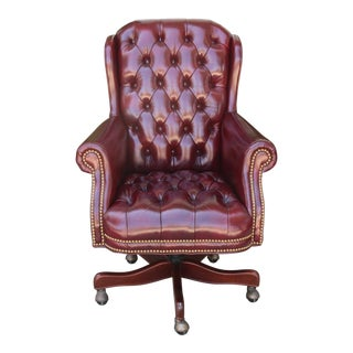 Hancock and Moore Executive Leather Chair