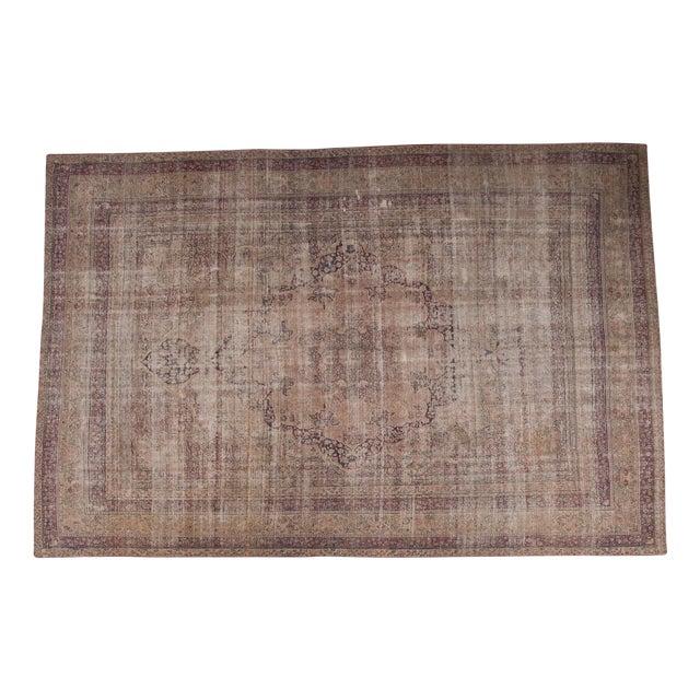 "Antique Persian Kerman Carpet - 9' X 13'1"" - Image 1 of 10"
