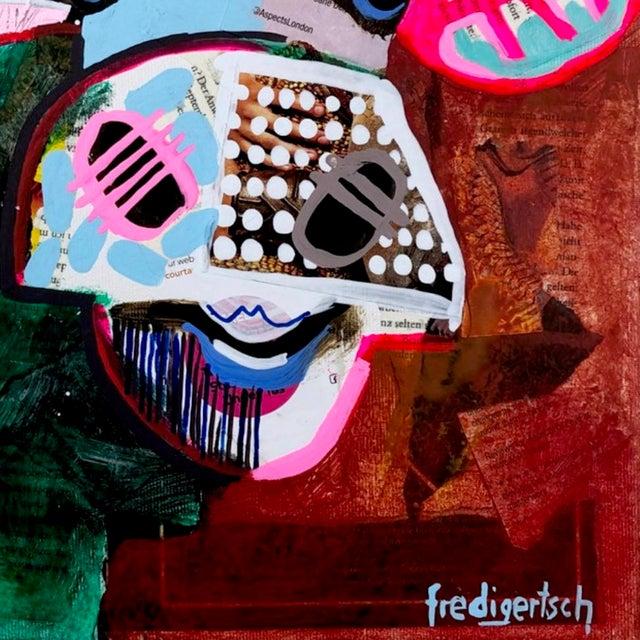 """2010s """"Oh Julie"""" Original Artwork by Fredi Gertsch For Sale - Image 5 of 9"""