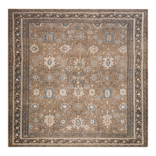 """Antique Persian Malayer Rug 11'8""""x11'10"""" For Sale"""