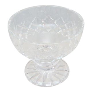 Waterford Signed Crystal Foot Bowl