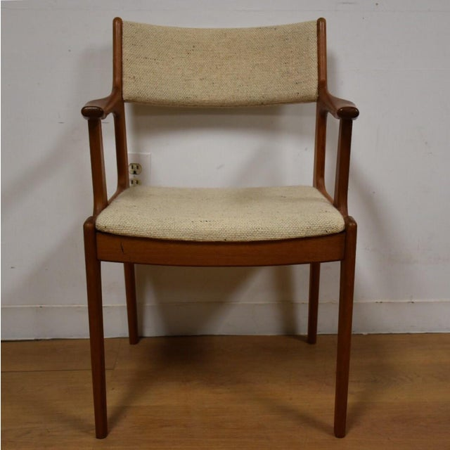 Mid-Century Teak Side Chair - Image 3 of 11
