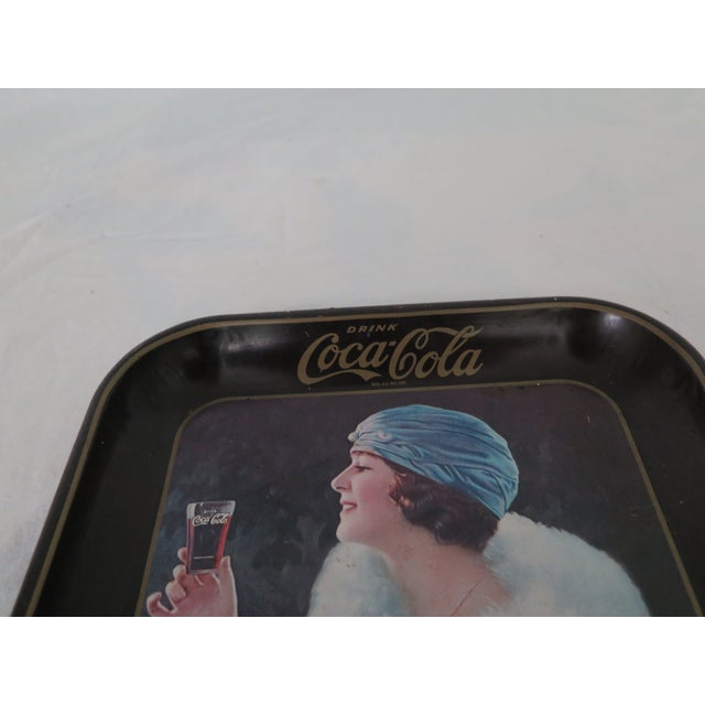 Art Deco 1960's Coca Cola Advertising Tray For Sale - Image 3 of 5