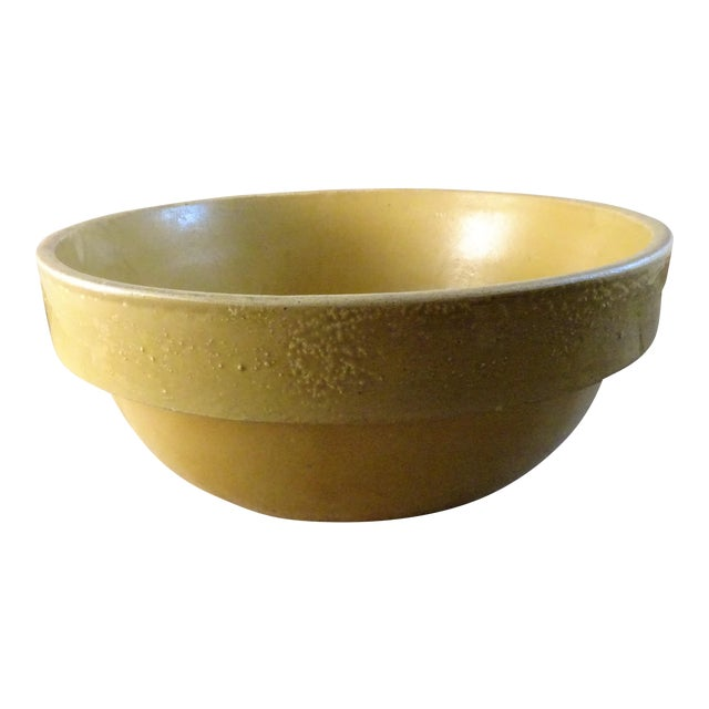 Antique Stoneware Bowl For Sale