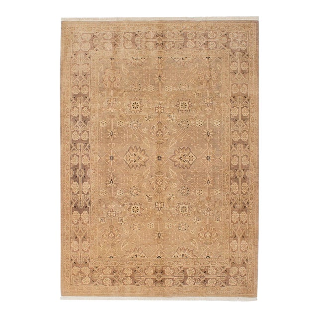 """Classic Hand-Knotted Rug, 5'11"""" X 8'7"""" For Sale"""