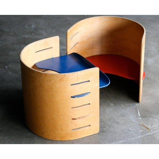 1950s Two Child's Chairs by Kristian Vedel for Torben Orskov For Sale - Image 5 of 6