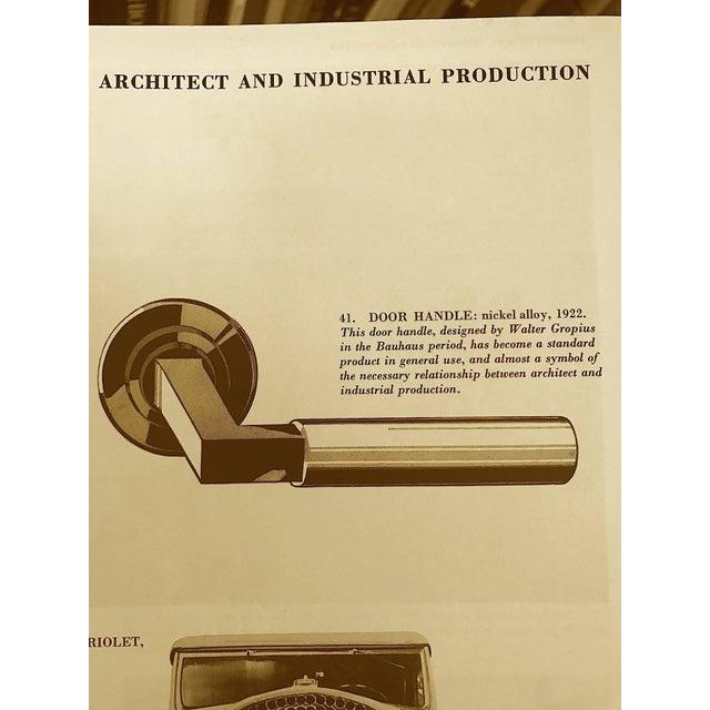 1920s Walter Gropius Door Handle Set For Sale - Image 5 of 6