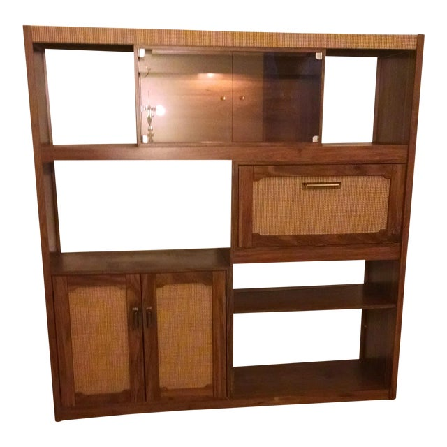 Mid-Century Modern Wall Unit - Image 1 of 6