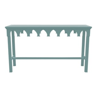 Oomph Ocean Drive Outdoor Console Table, Green For Sale