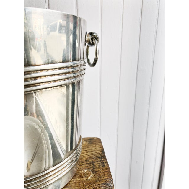 Christofle Vintage 1960s Christofle Silver Plated Champagne Bucket For Sale - Image 4 of 8