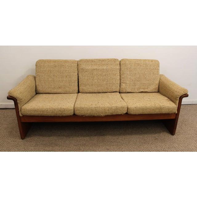 Mid-Century Danish Modern Teak Sofa by Mobler - Image 3 of 10