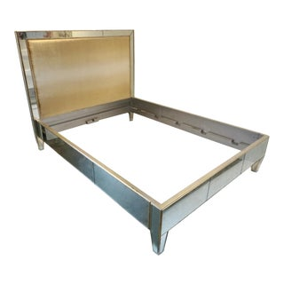 Ironies Mirrored Du Lac Queen Bed For Sale