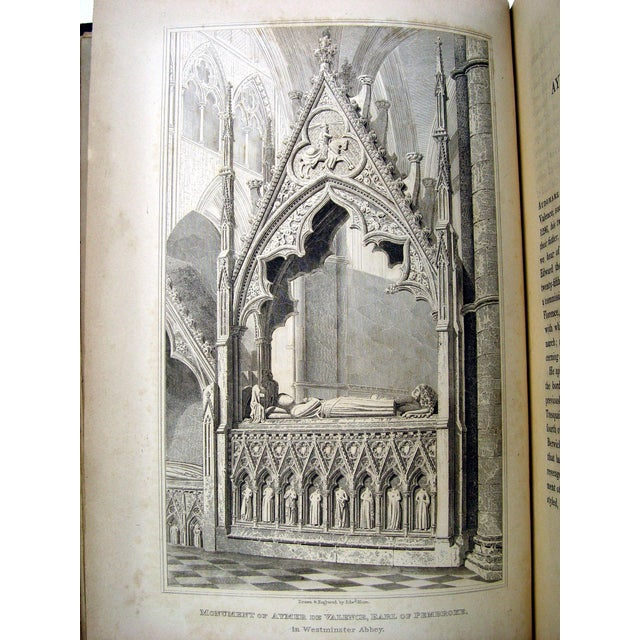 Monuments & Sepulchres of England Book, 1826 - Image 8 of 10