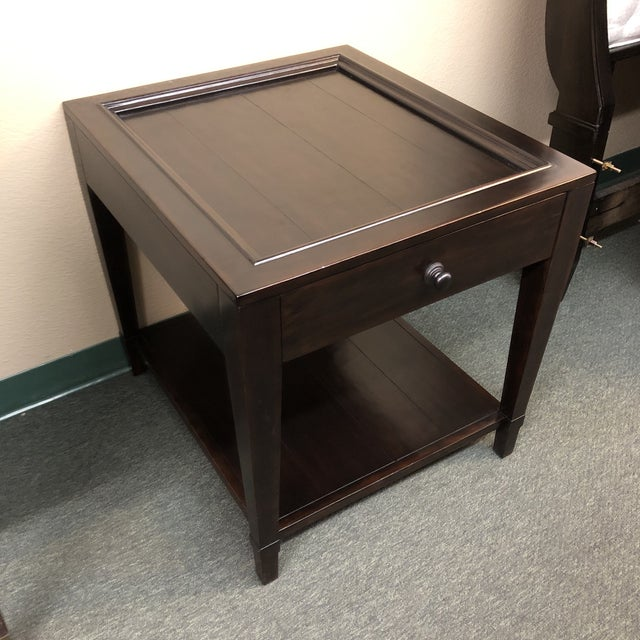 2010s Vintage Patina Tray Table by Bernhardt Furniture Company For Sale - Image 5 of 10