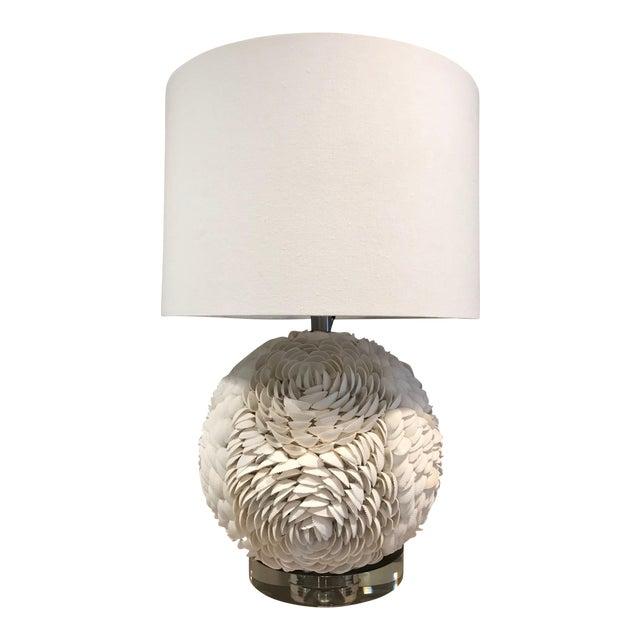 Regina Andrew White Seashell Table Lamp - White For Sale
