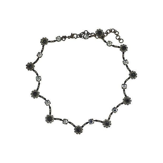 Sorrelli Black & White Floral Necklace For Sale In Miami - Image 6 of 6