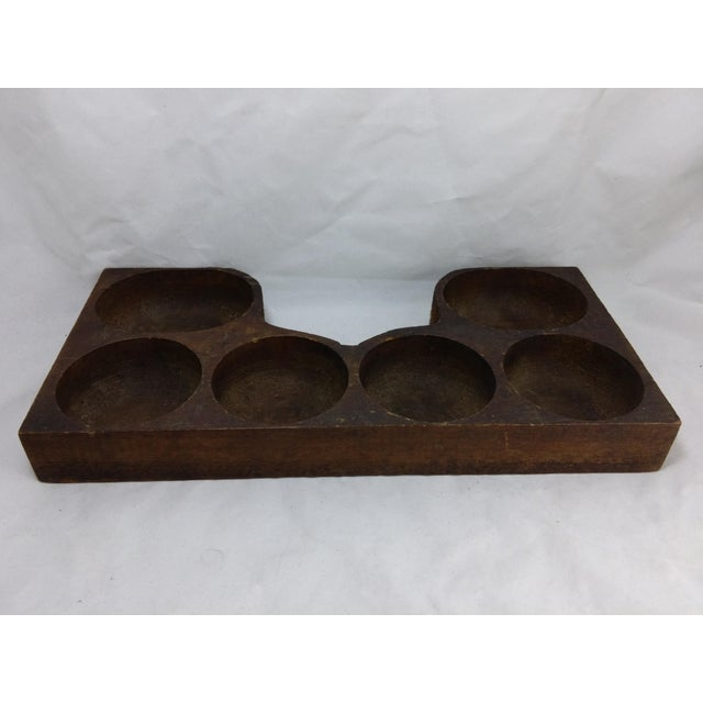 Rustic Antique Cash Register Wood Change Organizer - Image 6 of 8