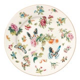 Image of Adam Lippes Four Roseraie Side Plates For Sale