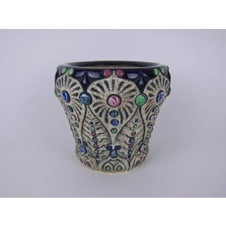 Vintage Amphora Pottery Jeweled Jardiniere or Cachepot Preview
