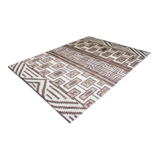 Hand Knotted Navajo Style Rug - 8′9″ × 10′9″