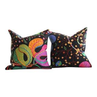 Josef Frank Teheran Floral Pillow Cushions - A Pair